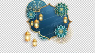 وکتور png ماه رمضان 36