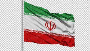 وکتور png پرچم ایران 1