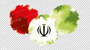 وکتور png پرچم ایران 13