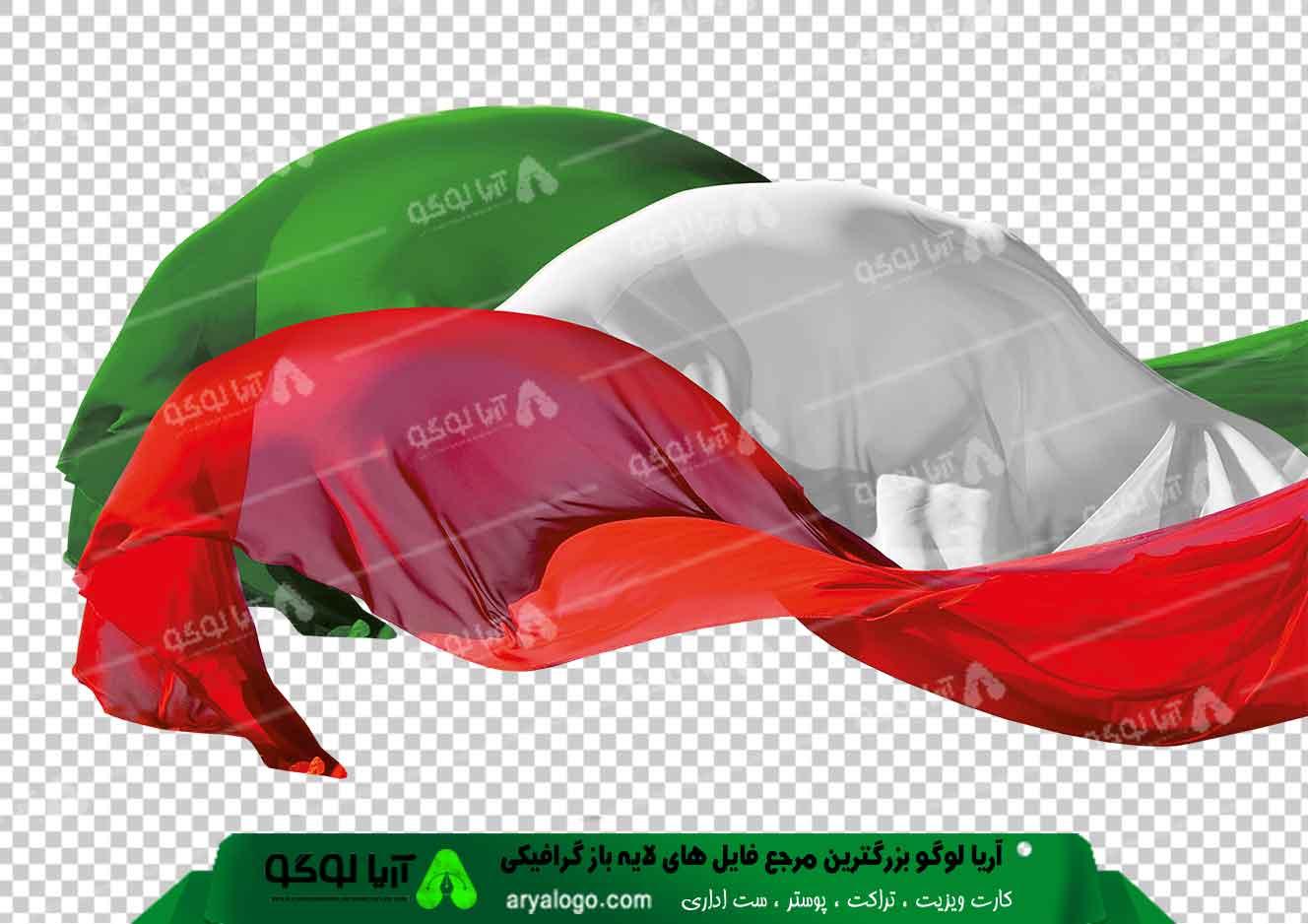 وکتور png پرچم ایران 16