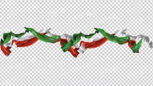 وکتور png پرچم ایران 17