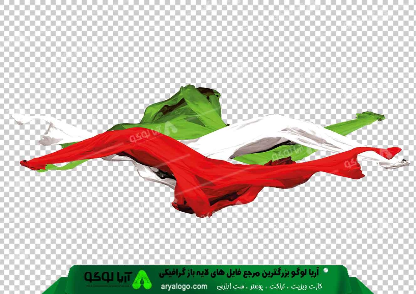 وکتور png پرچم ایران 18