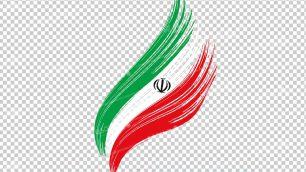 وکتور png پرچم ایران 19
