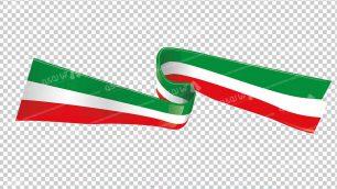 وکتور png پرچم ایران 22