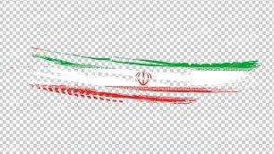 وکتور png پرچم ایران 23