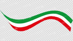 وکتور png پرچم ایران 24