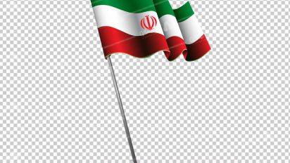 وکتور png پرچم ایران 25