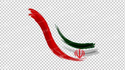 وکتور png پرچم ایران 26