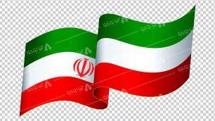 وکتور png پرچم ایران 27