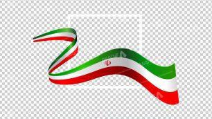 وکتور png پرچم ایران 28