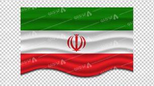 وکتور png پرچم ایران 29