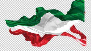 وکتور png پرچم ایران 3