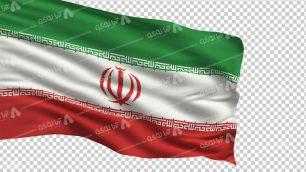 وکتور png پرچم ایران 5