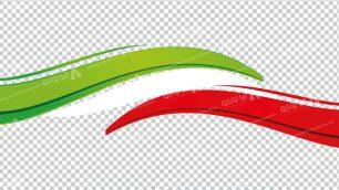 وکتور png پرچم ایران 9