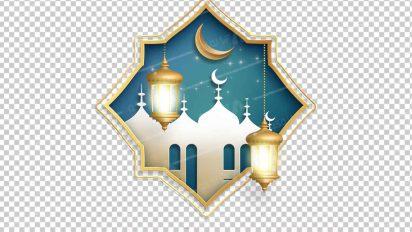 وکتور png ماه رمضان 29