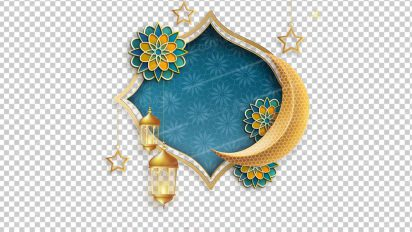 وکتور png ماه رمضان 34