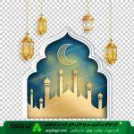 وکتور png ماه رمضان 35