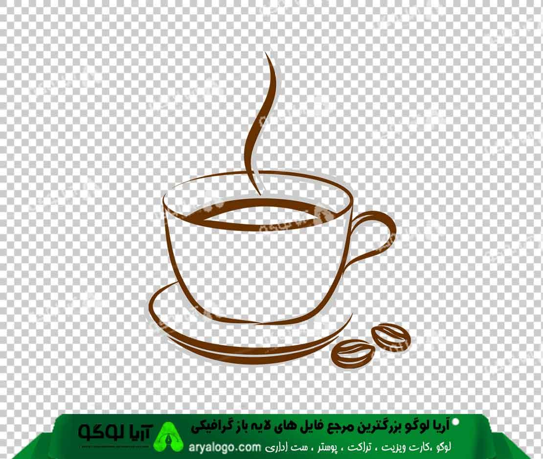 وکتور png کافه و قهوه 30
