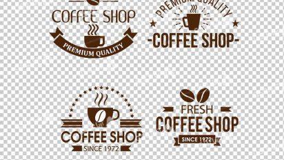 وکتور png کافه و قهوه 31