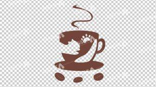 وکتور png کافه و قهوه 33