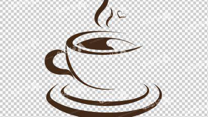 وکتور png کافه و قهوه 35
