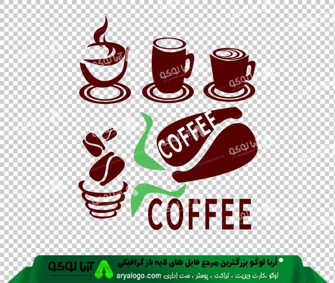 وکتور png کافه و قهوه 36