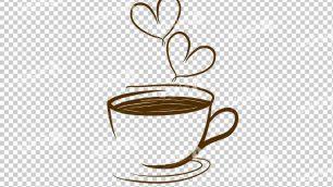 وکتور png کافه و قهوه 23