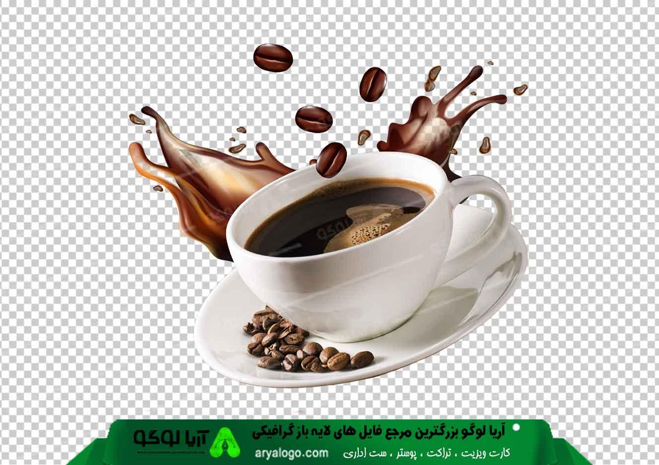 وکتور png کافه و قهوه 1