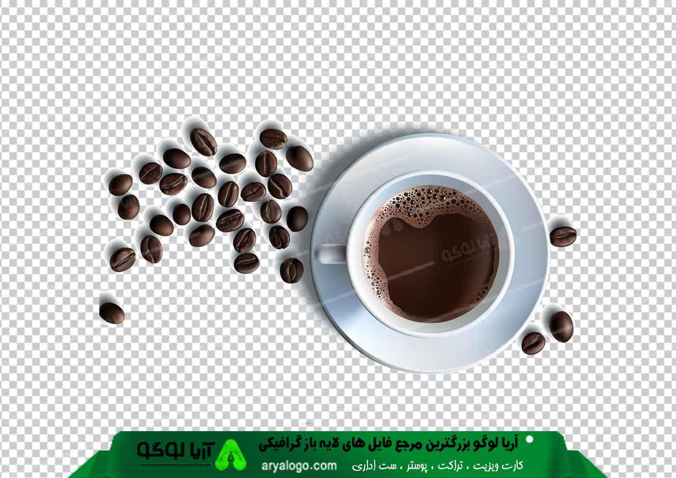 وکتور png کافه و قهوه 2