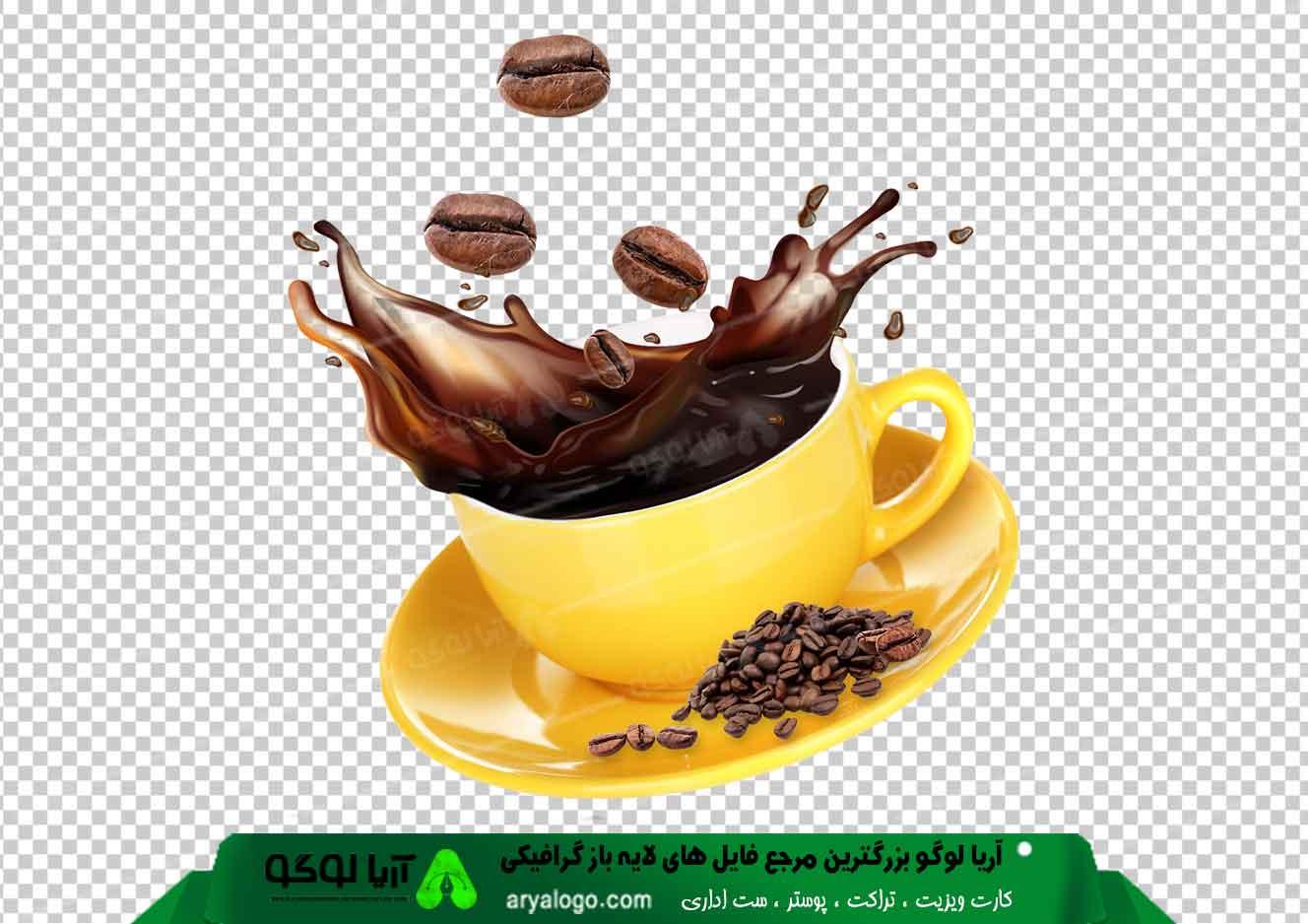 وکتور png کافه و قهوه 3