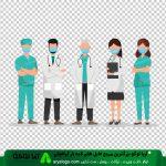 وکتور png پزشکی طرح 10