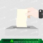 وکتور png انتخابات 3