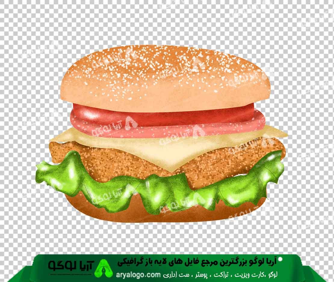 وکتور png ساندویچ 48