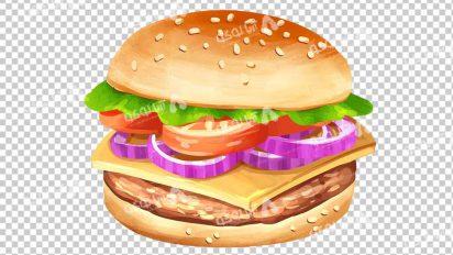 وکتور png ساندویچ 49