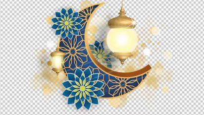 وکتور png ماه رمضان 45