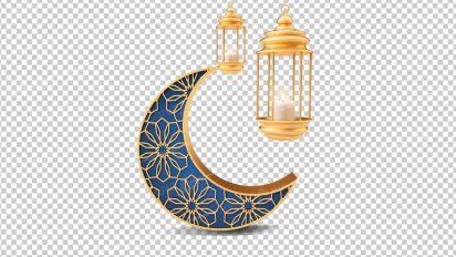وکتور png ماه رمضان 48