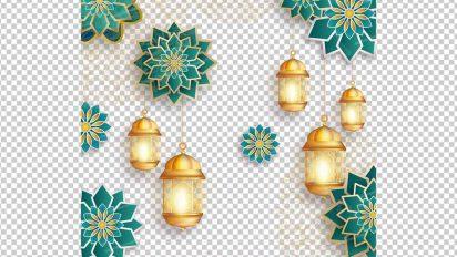 وکتور png ماه رمضان 51