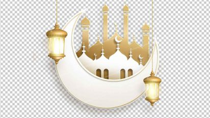 وکتور png ماه رمضان 53
