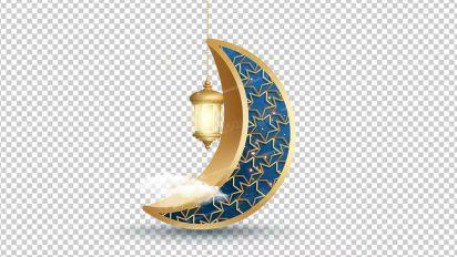 وکتور png ماه رمضان 54