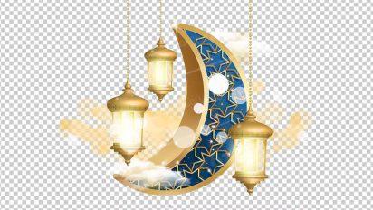 وکتور png ماه رمضان 41