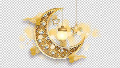 وکتور png ماه رمضان 44