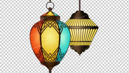 وکتور png ماه رمضان 61