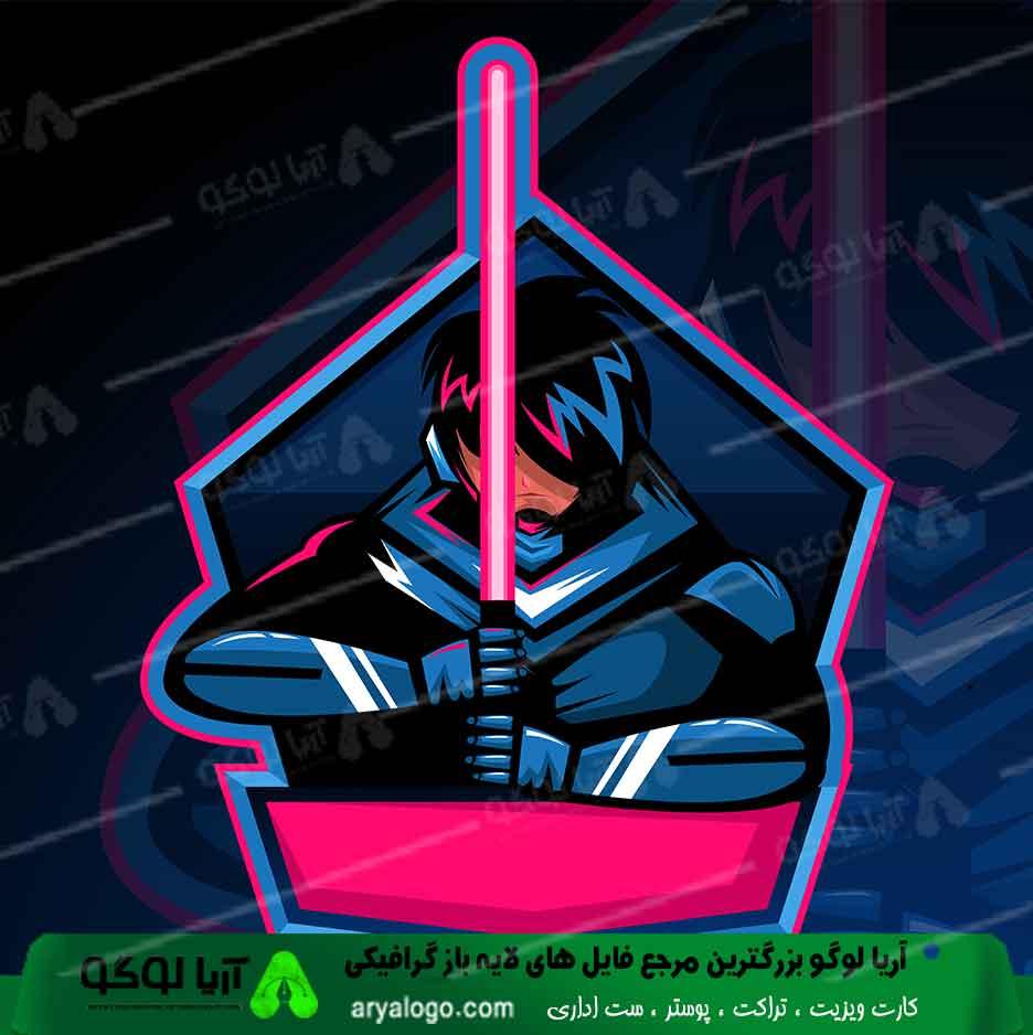 لوگو گیمینگ logo gaming طرح 8