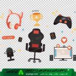 وکتور گیمینگ vector gaming طرح4