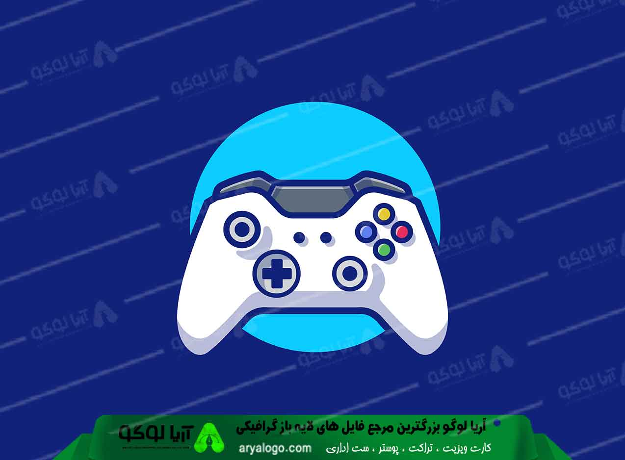 لوگو گیمینگ logo gaming طرح 6