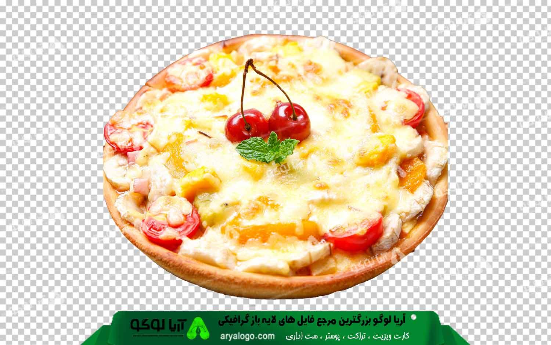 عکس png پیتزا طرح 5