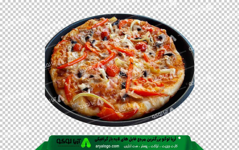 عکس png پیتزا طرح 8