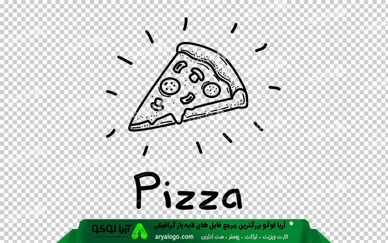 عکس png پیتزا طرح 3