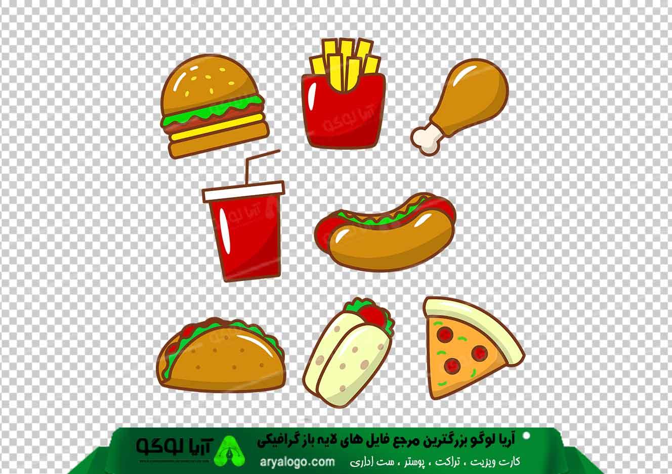 عکس png ساندویچ طرح 10