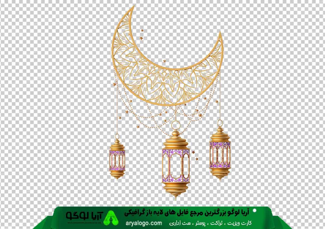 وکتور png ماه رمضان 15